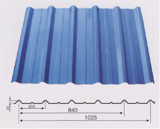 Single-layer-colored-steel-sheet