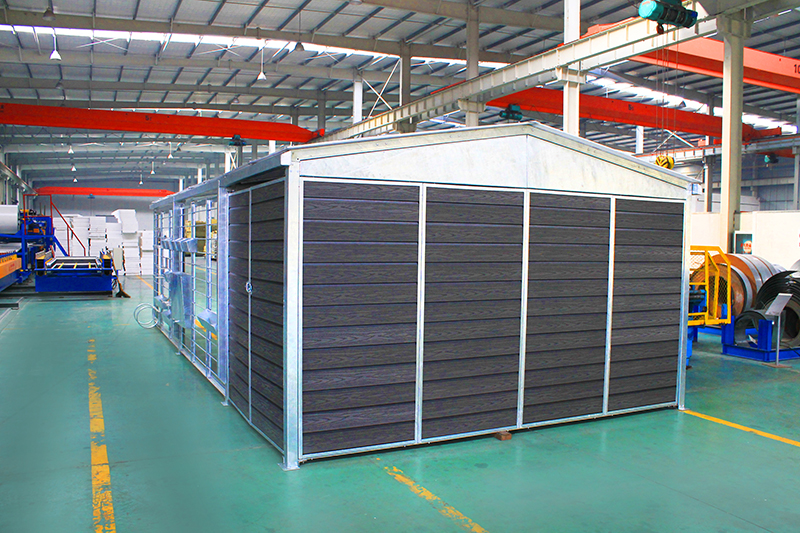 prefabricated steel garage