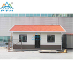 Low Cost Customized 1 bedroom prefab Light Steel Villa House China Suppliers