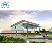 Low Cost Modular Light Steel Villa House