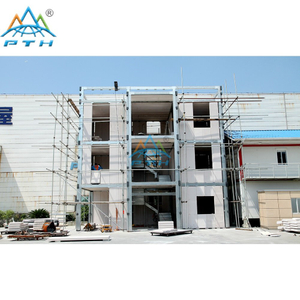 2017 Economical Environmental Light steel prefab villa with ALC panel