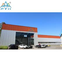 Steel structure factory in Brazil (Steel Factory)