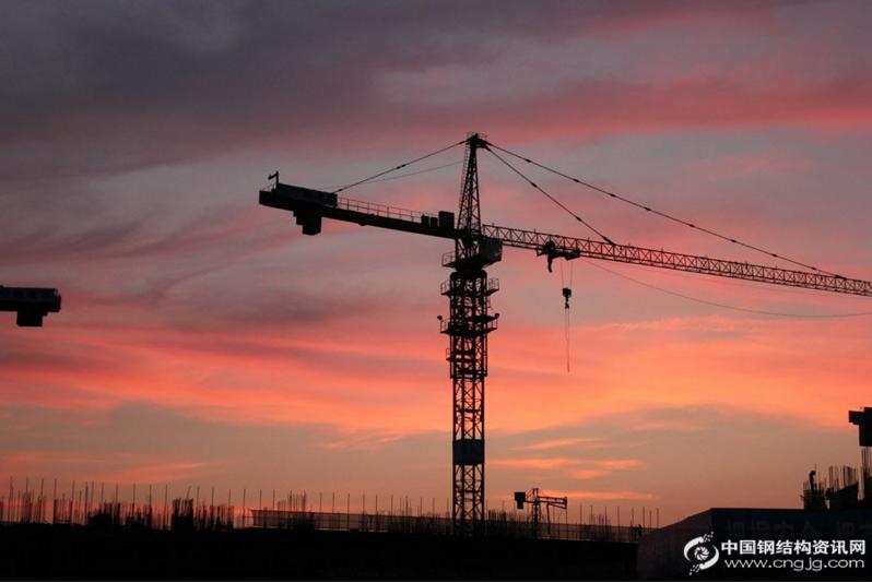 steel structure-sunset