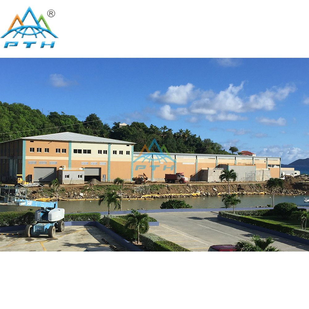 Steel Warehouse Buildings in Virgin islands(British)