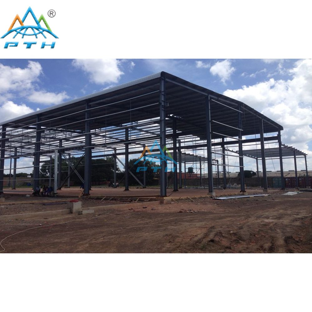 Steel Structure Workshop in Mozambique