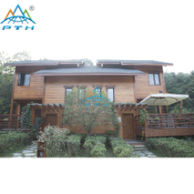 Prefabricated Luxury Light Steel Villa as Resort Villa