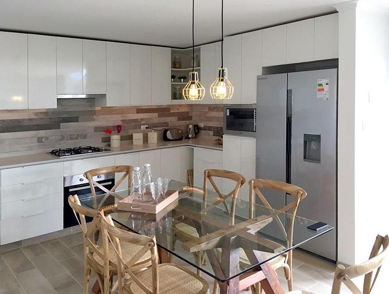 inner features of light steel villa