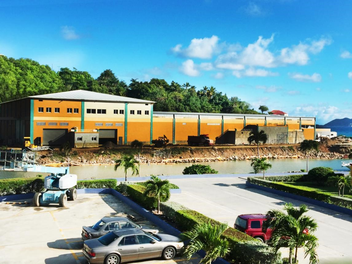 Steel Structure Logistics Centers construction in the Virgin Islands