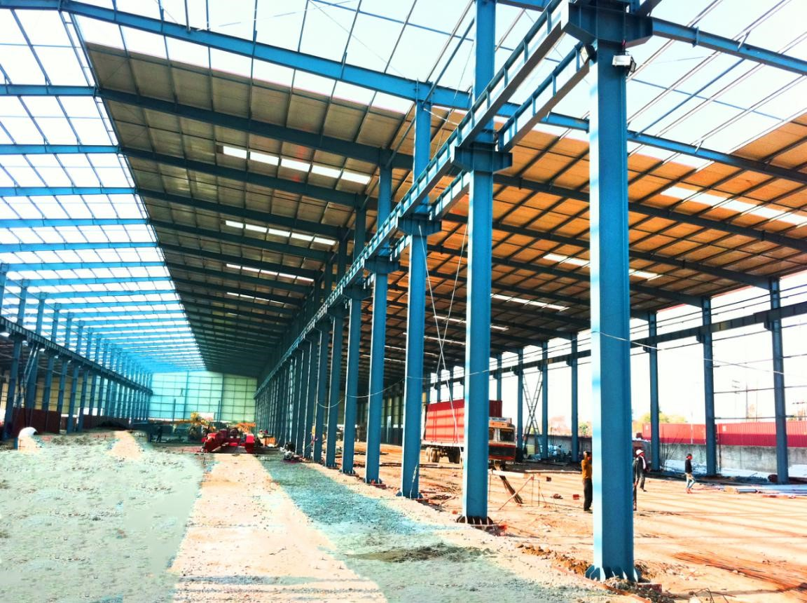 Steel Structure Warehouse construction in India