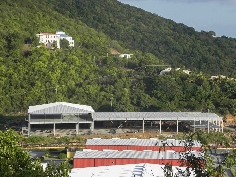 Steel Structure Logistics Centers in the Virgin Islands