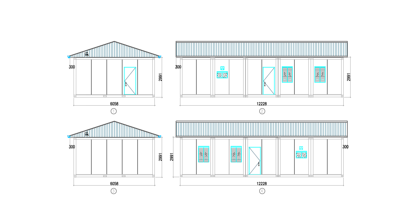 prefabricated container homes design dimensions-4