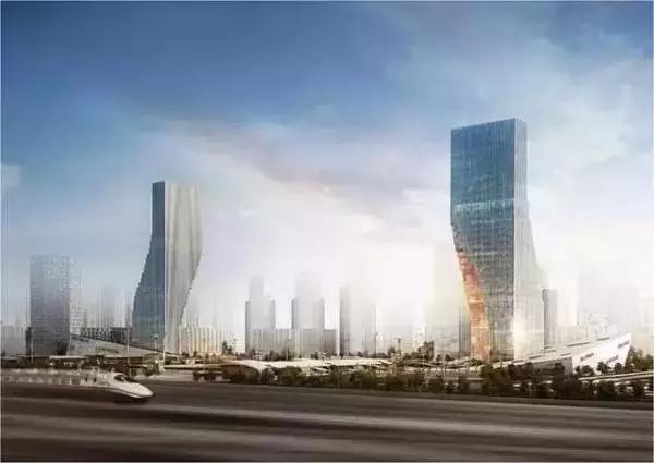Twin Top Landmark Complex at Harbin