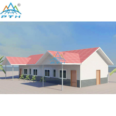 Light Steel Villa 161 square meter (4 bedrooms and 2 washrooms)