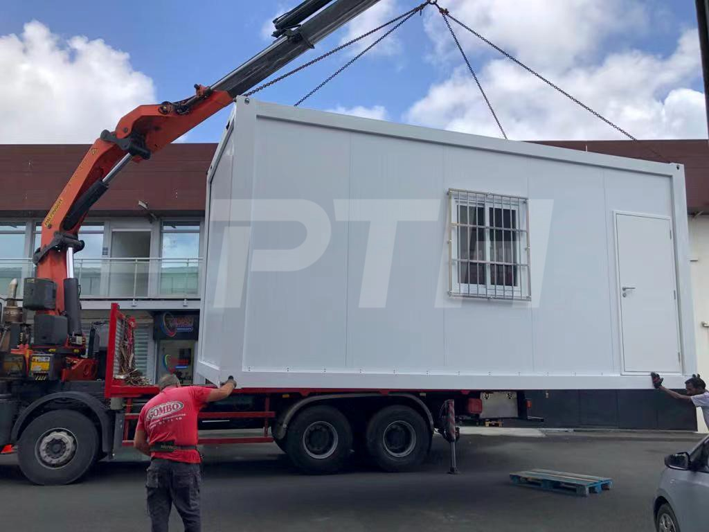 PTH container house is easy to tansport on and off site-2