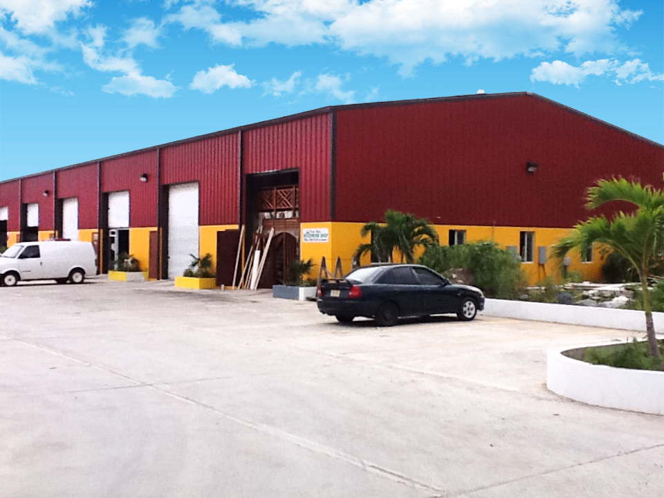 1 (2Steel structure logistics warehouse outlook