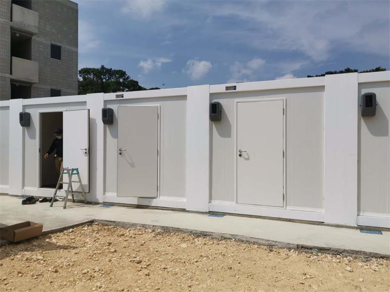 Rental Housing For Supporting Facilities In Japanese Container Camps-4