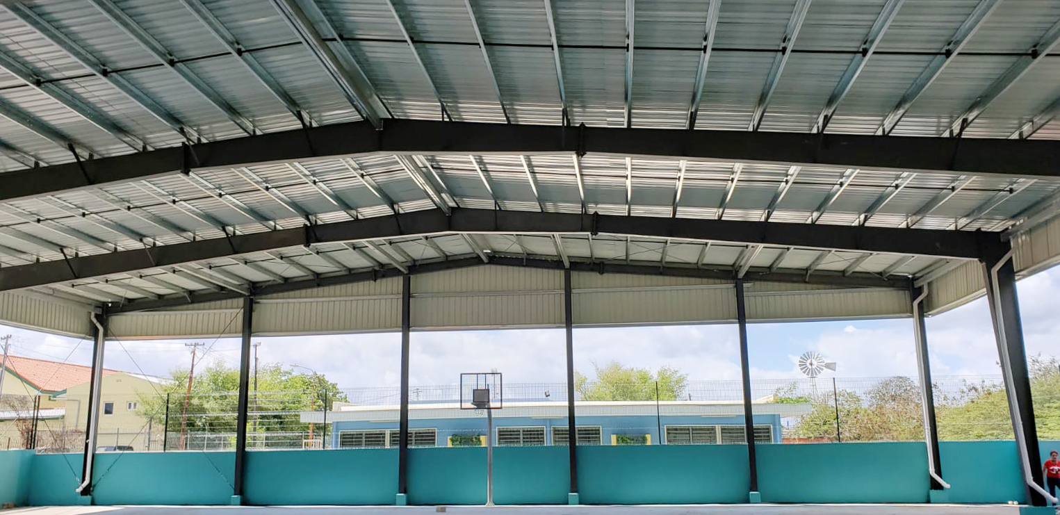 steel sporting facilities structure
